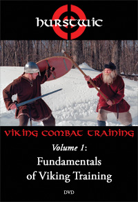 Viking combat training DVD cover art