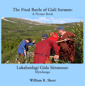 The Final Battle of Gisli Sursson Picture Book