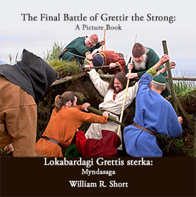The Final Battle of Grettir the Strong Picture Book