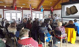lecture at Scandinavian Cultural Center