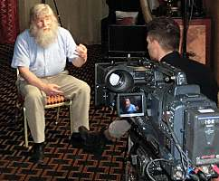 Vinland interview for television